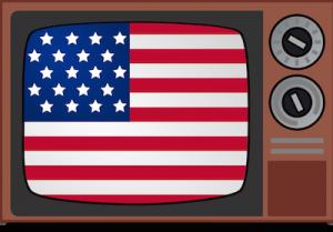 American_flag_TV