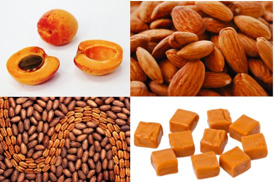 apricot almond pecan caramel pronunciation